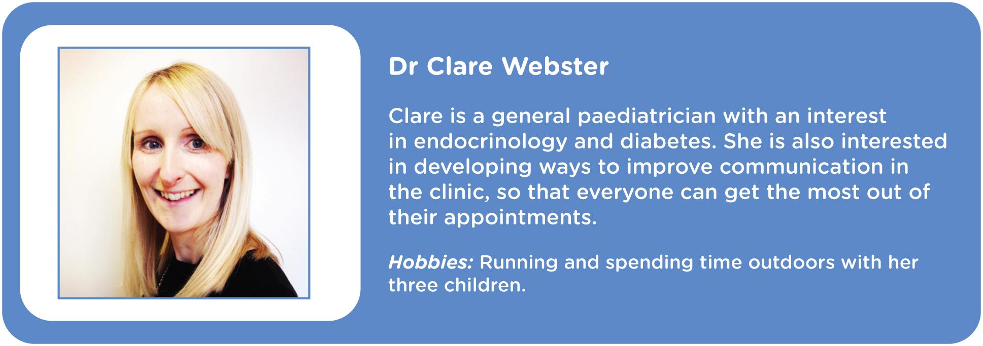 Clare Webster