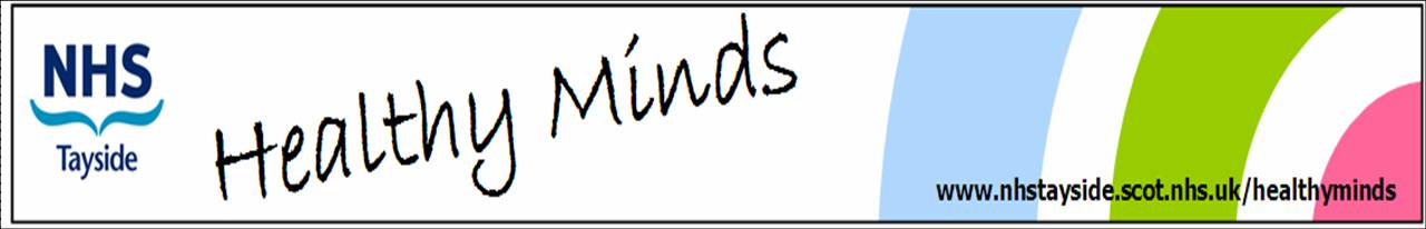 Healthy Minds title