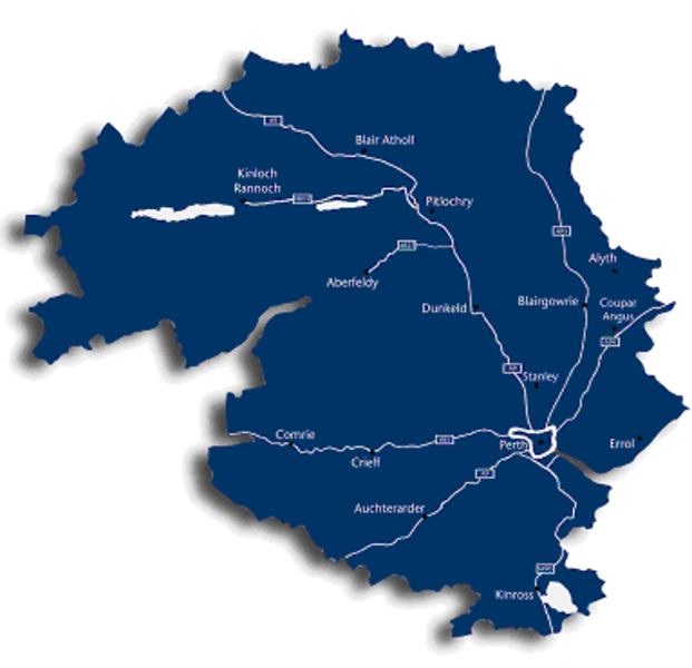 Perth & Kinross Map